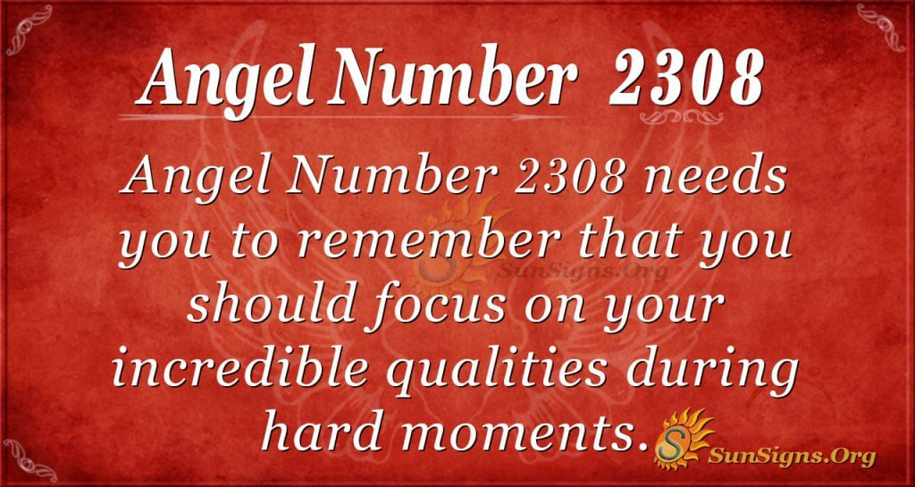 Angel number 2308