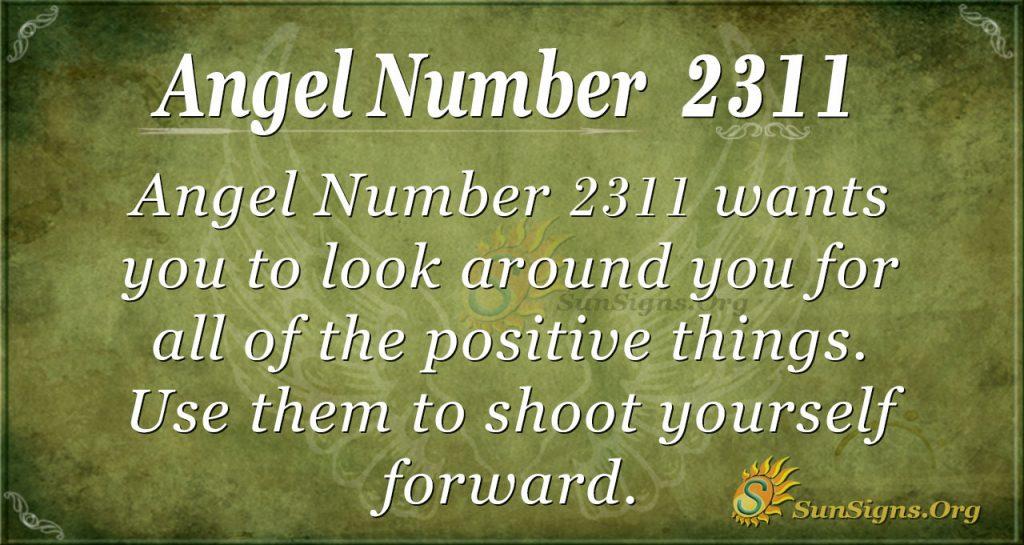 Angel Number 2311