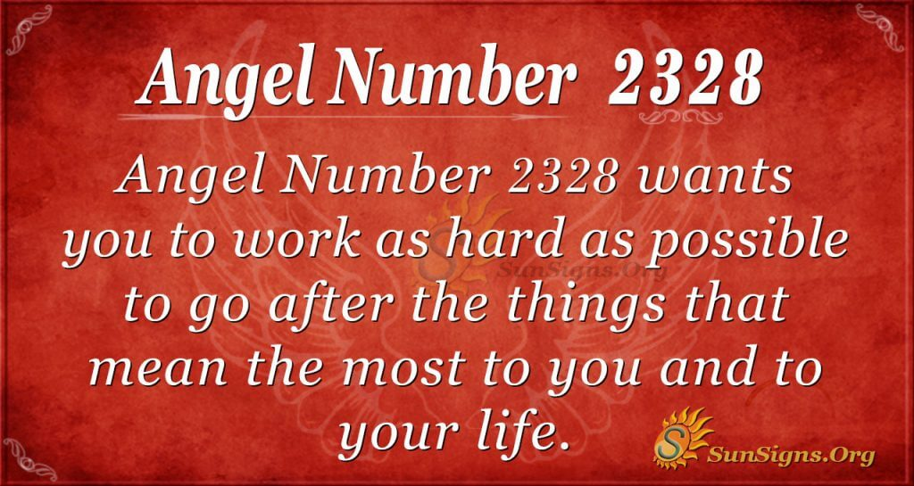 Angel number 2328