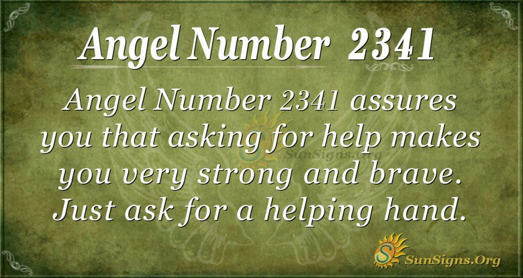 Angel Number 2341