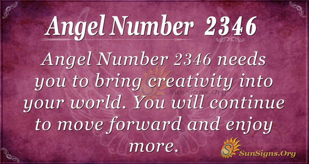 Angel Number2346