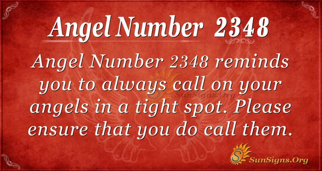 Angel number 2348