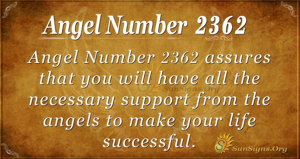 Angel number 2362