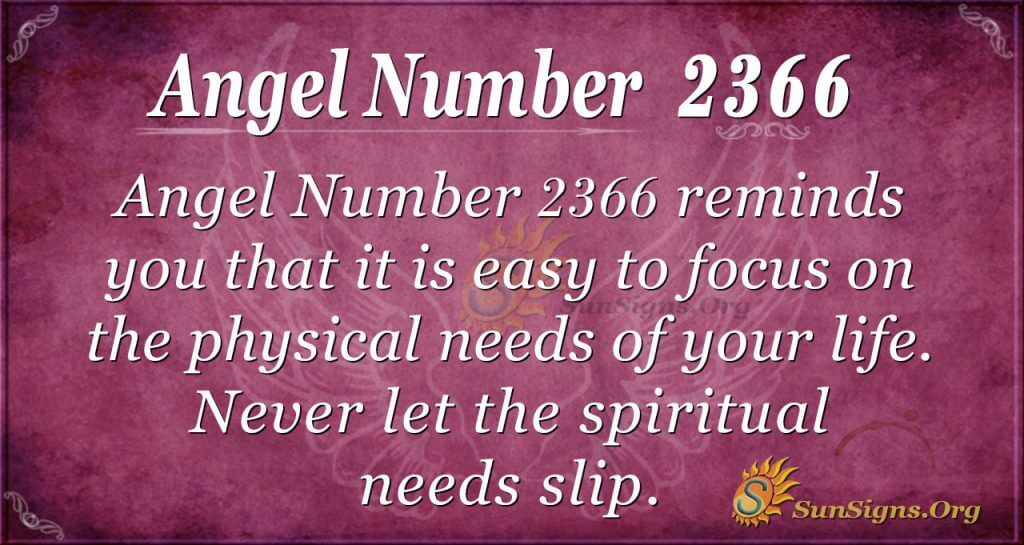 Angel number 2366