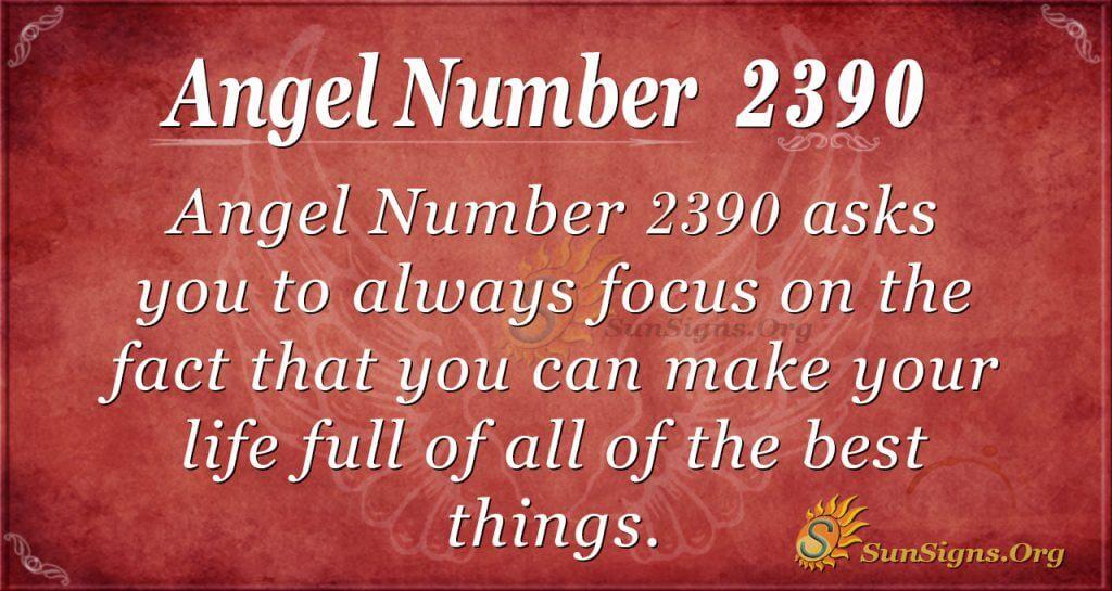Angel number 2390