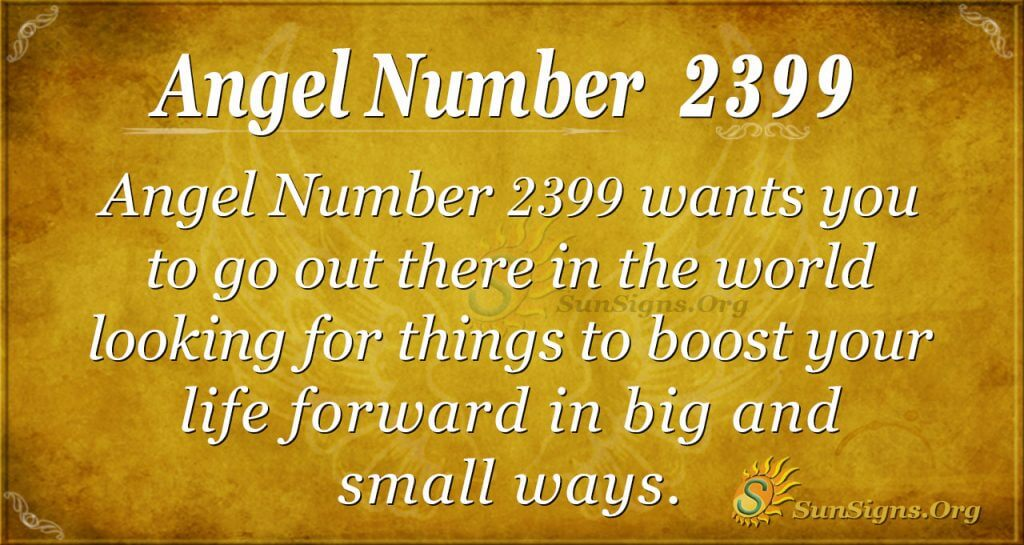 Angel number 2399