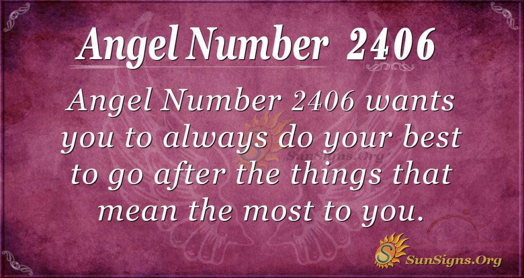 Angel Number 2406