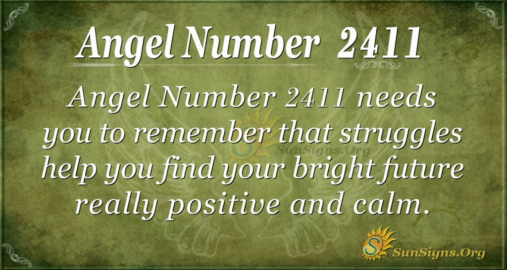 Angel number 2411