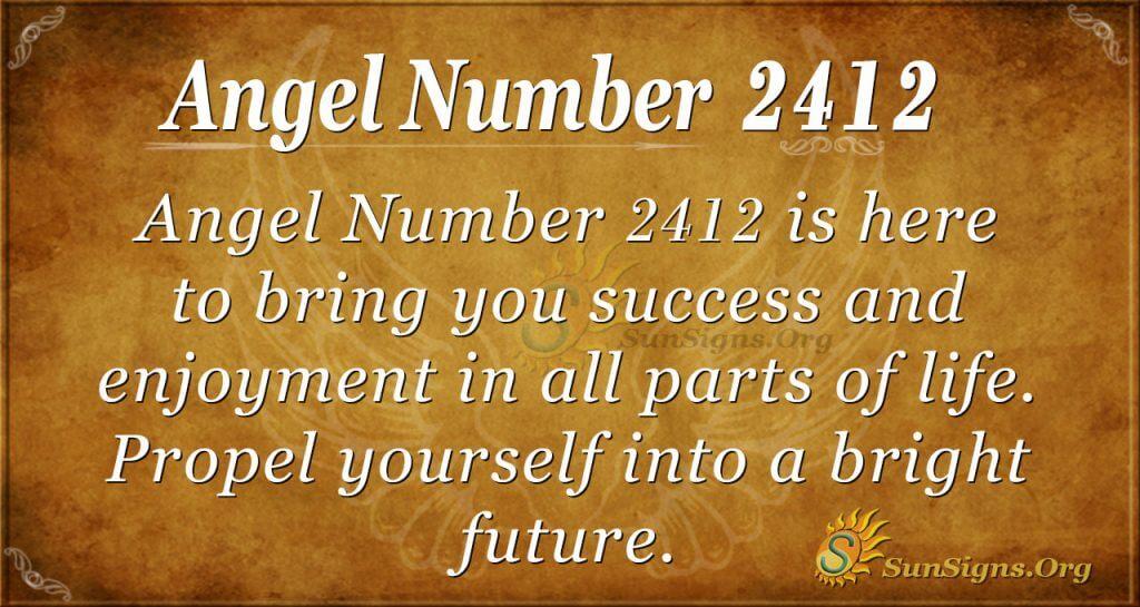 Angel Number 2412