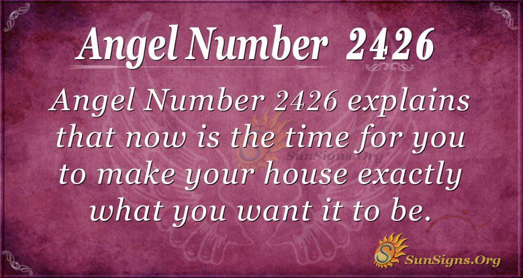 Angel Number 2426