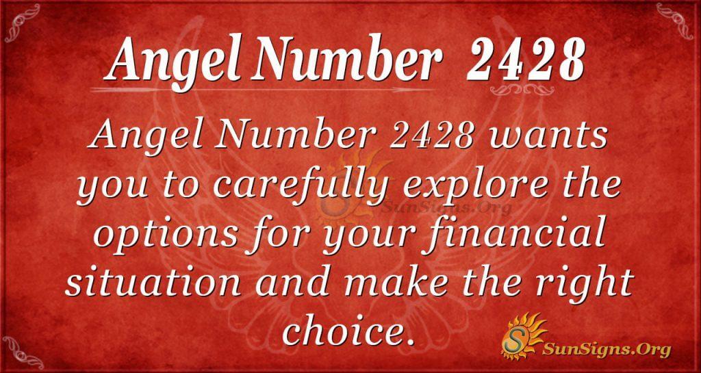 Angel number 2428
