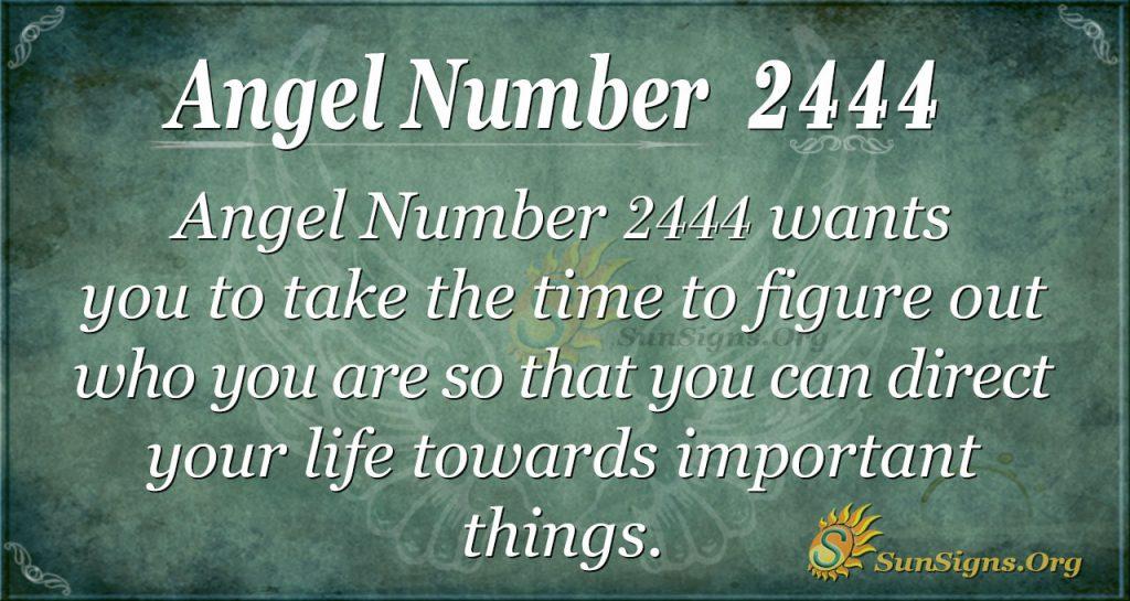 Angel number 2444