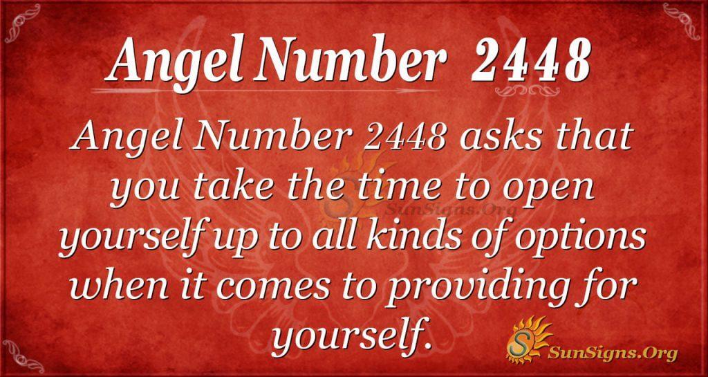 Angel Number 2448