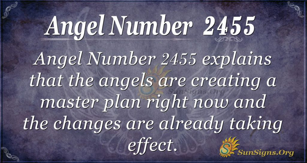 Angel Number 2455
