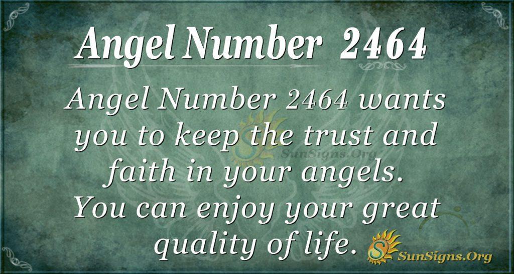 Angel Number 2464