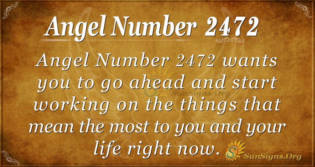 Angel number 2472