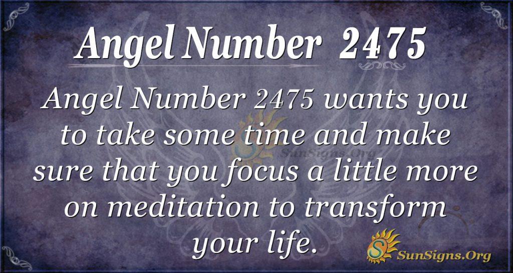 AngelNumber 2475