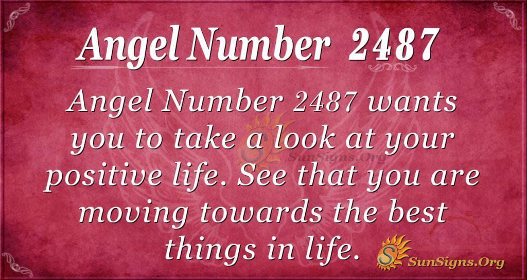 Angel number2487