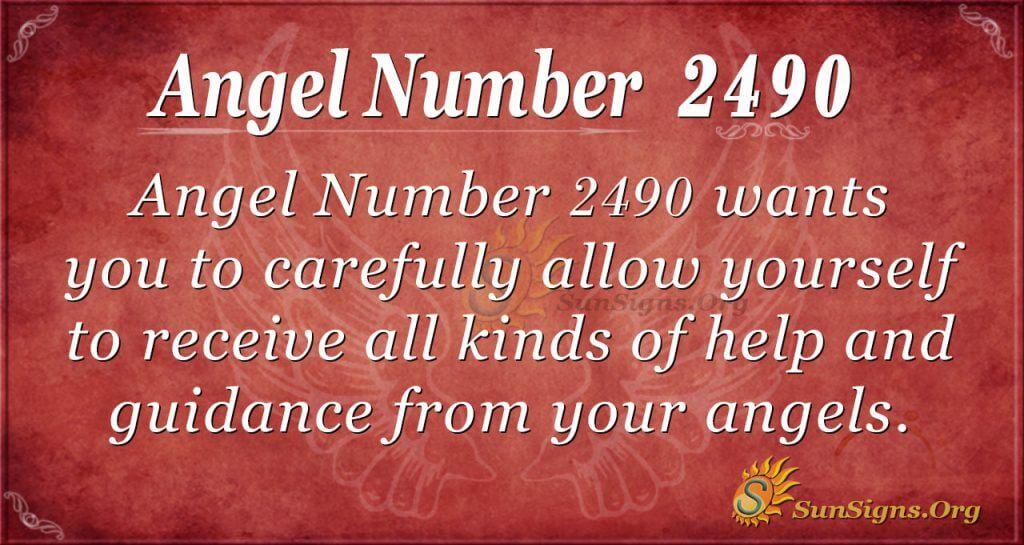 Angel Number2490