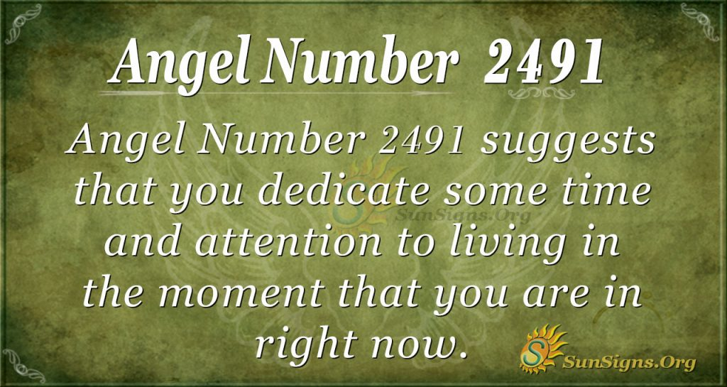 Angel number 2491