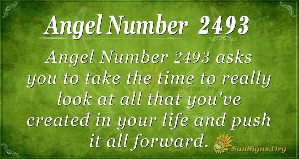 Angel number 2493