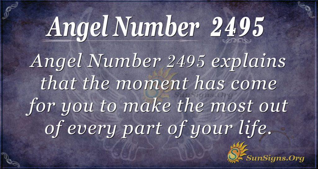 Angel Number 2495