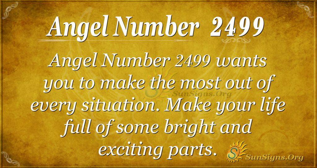 Angel Number 2499