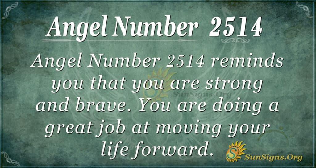 Angel Number 2514