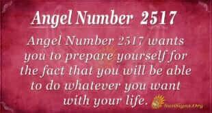 Angel Number 2517