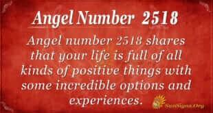 Angel Number 2518