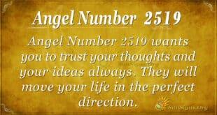 Angel Number 2519