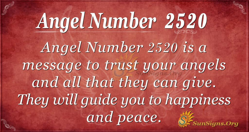 Angel number 2520