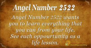 Angel Number 2522