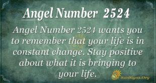 Angel number 2524