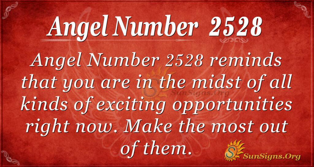 Angel Number 2528
