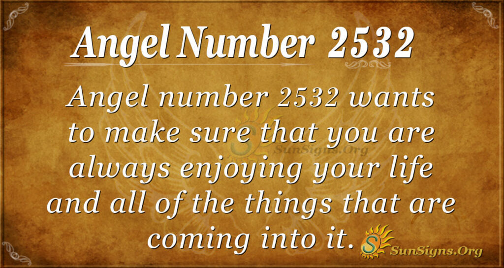 Angel Number 2532