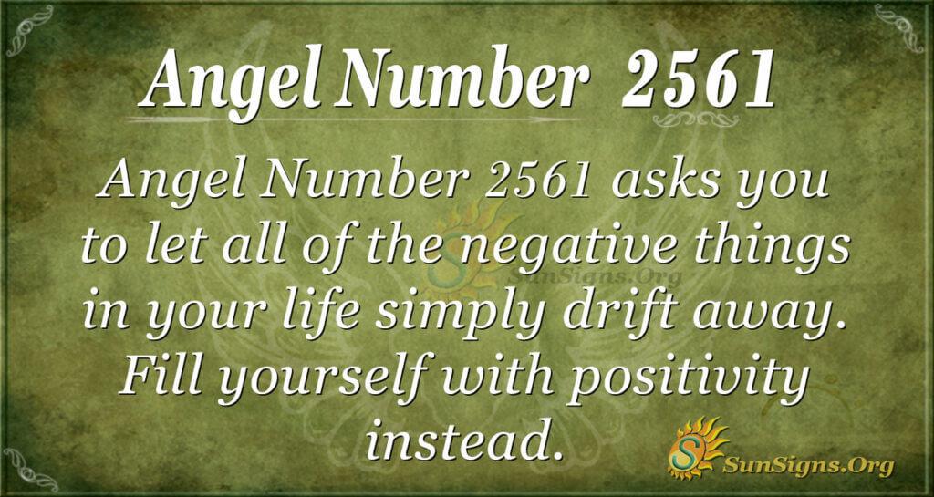 Angel number 2561