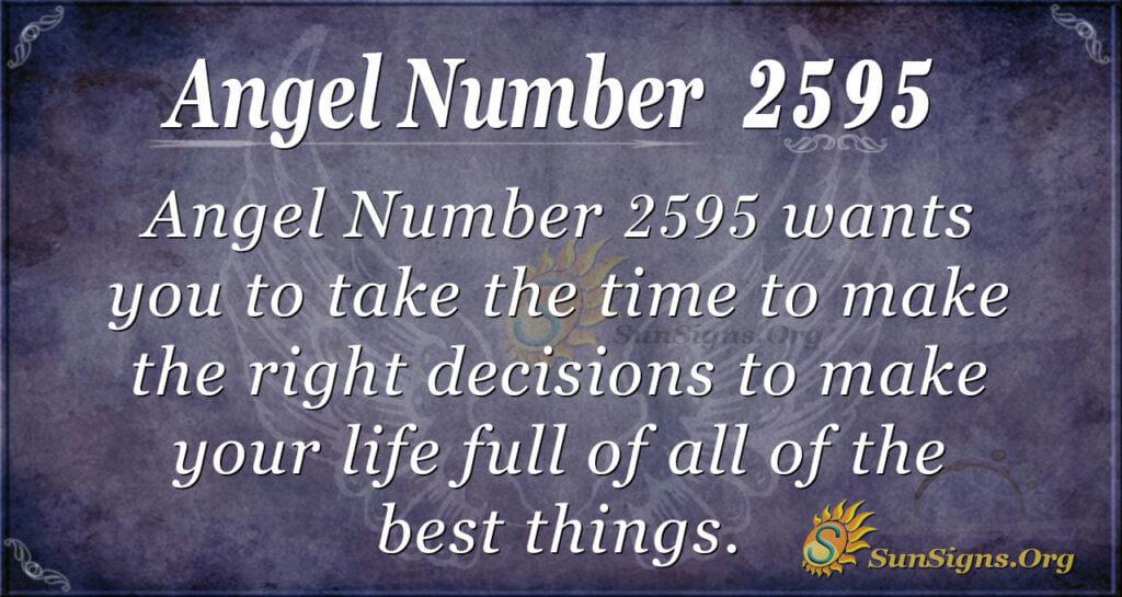Angel Number2595