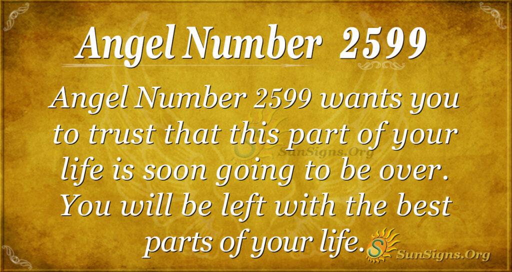 Angel Number2599