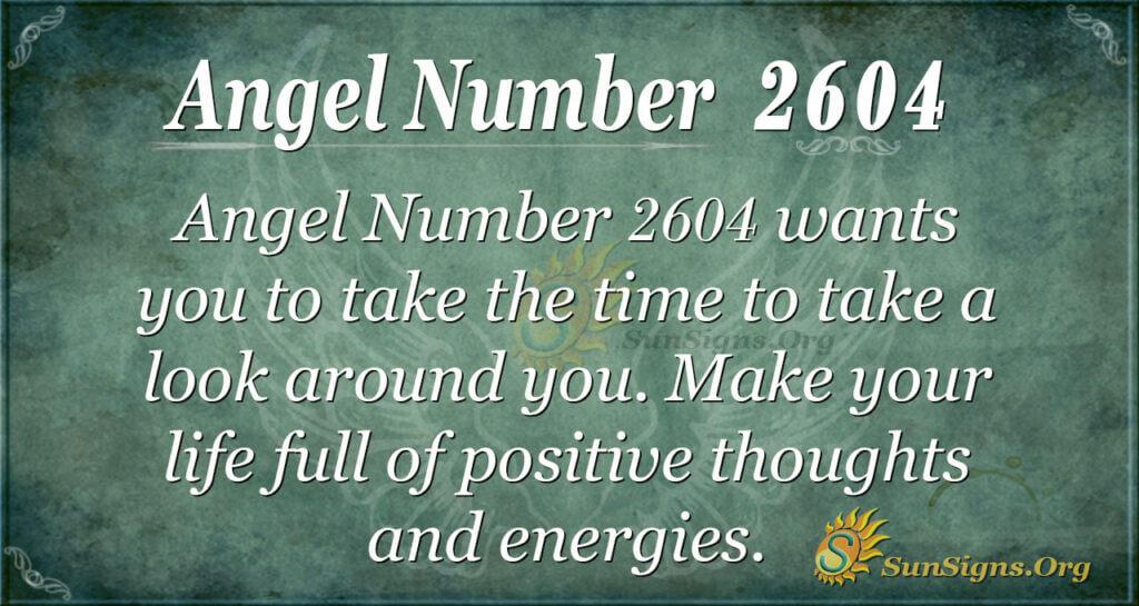 Angel Number 2604