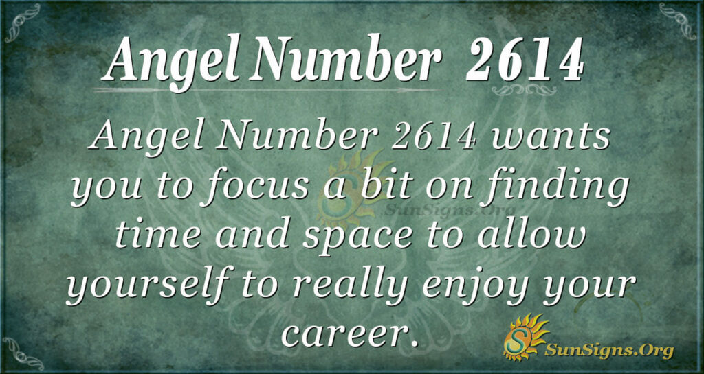 Angel number 2614