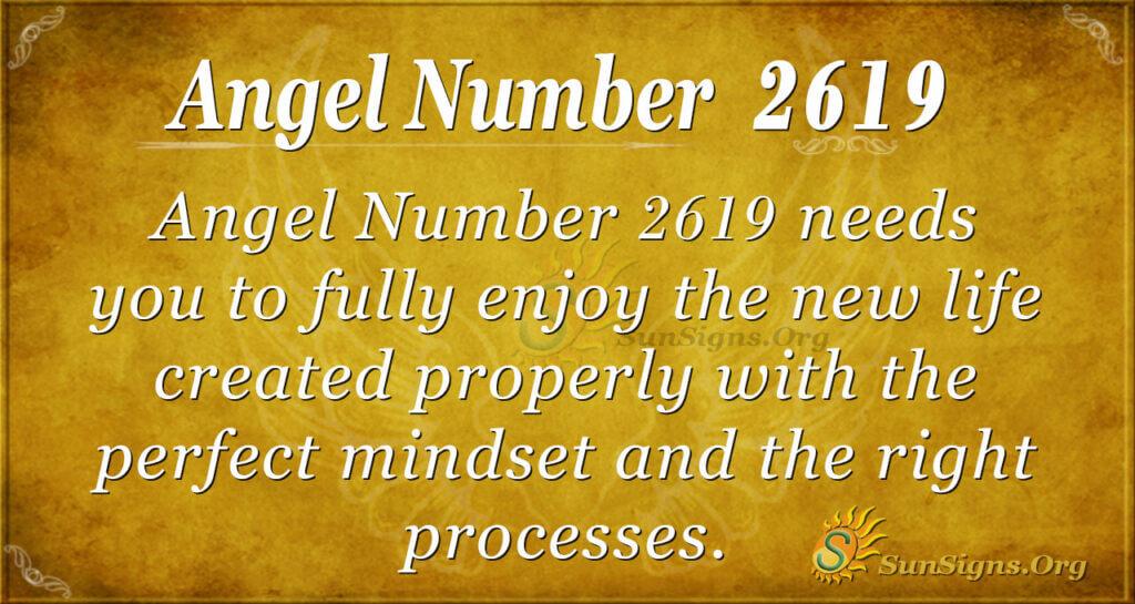 Angel Number 2619