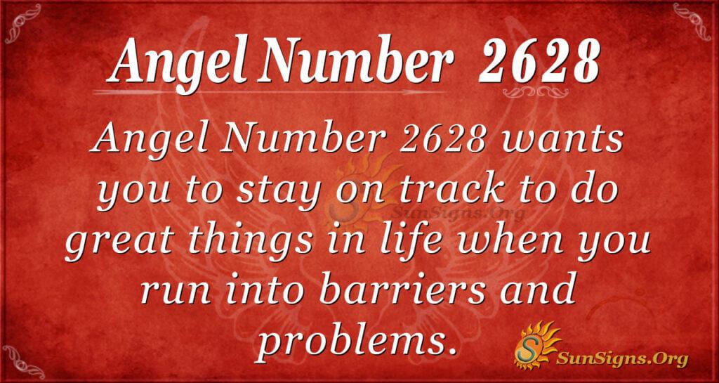 Angel Number 2628