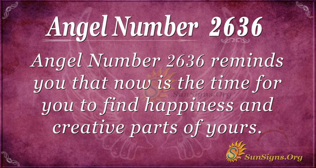 Angel Number 2636