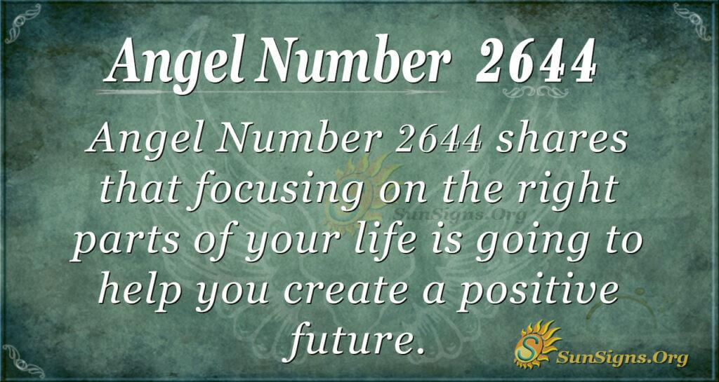Angel Number2644
