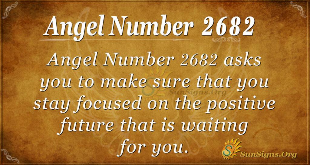Angel Number 2682
