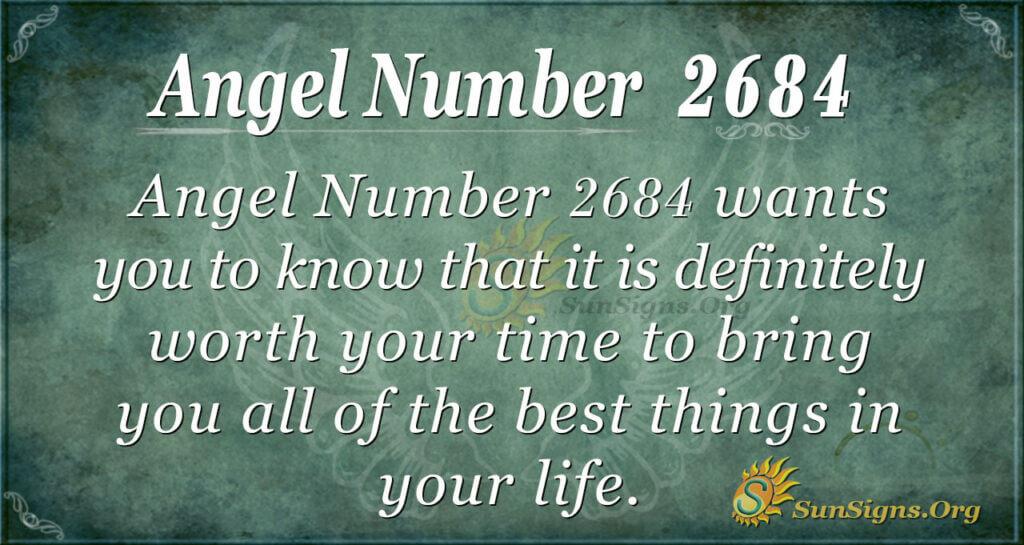 Angel Number 2684
