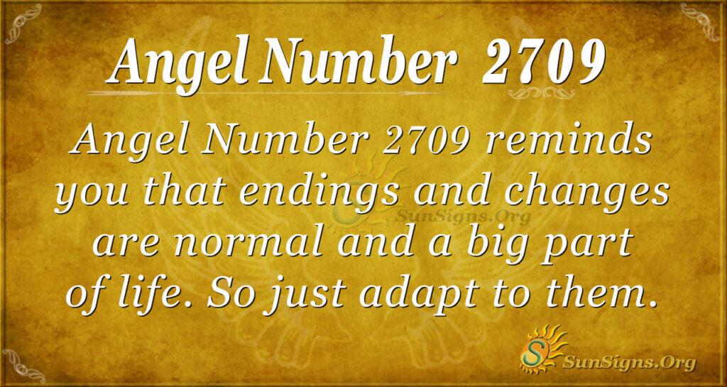 Angel Number 2709