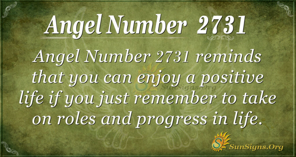 Angel Number 2731