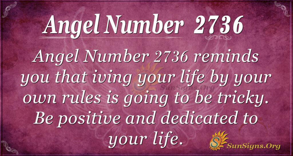 Angel Number 2736